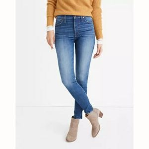 Madewell Mid-Rise Skinny Jeans